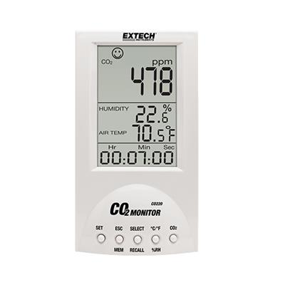 艾示科Extech CO220 台式室内空气质量CO 2