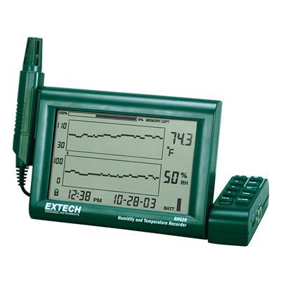 艾示科Extech rh520a - 240  可拆式探针湿度+温度图表记录器(240 v)