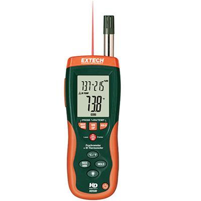 艾示科Extech HD500 干湿表与红外测温仪