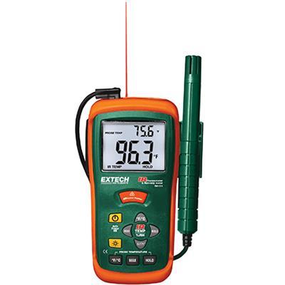 艾示科Extech RH101  Hygro-Thermometer +红外测温仪
