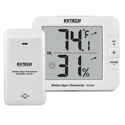 艾示科Extech RH200W  多通道无线Hygro-Thermometer