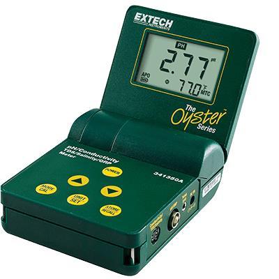 艾示科Extech 341350 p  牡蛎™系列pH /电导/ TDS / ORP /盐度计