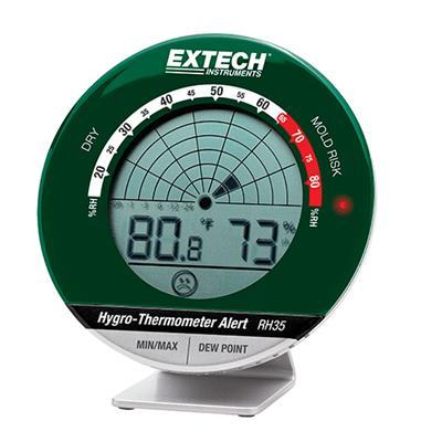 艾示科Extech RH35 桌面Hygro-Thermometer警报