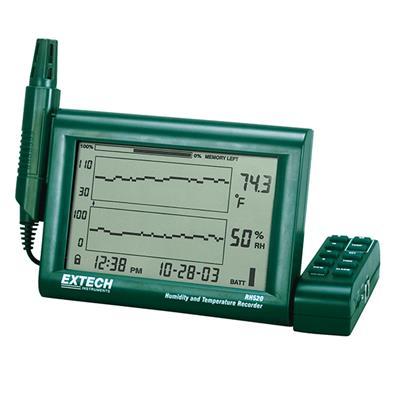 艾示科Extech RH520A 温度湿度+图表记录器可拆式探头