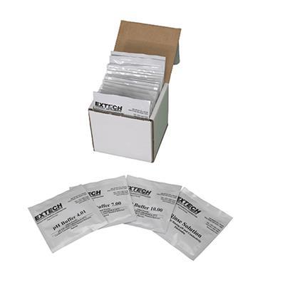 艾示科Extech PH103  Tripak缓冲袋(4、7和10 ph值加上冲洗液)