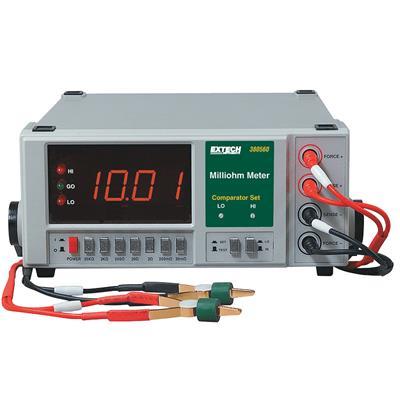 艾示科Extech 380560 高分辨率精度毫欧姆计(110伏)