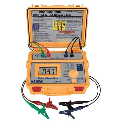 艾示科Extech 380580  电池供电的毫欧姆计