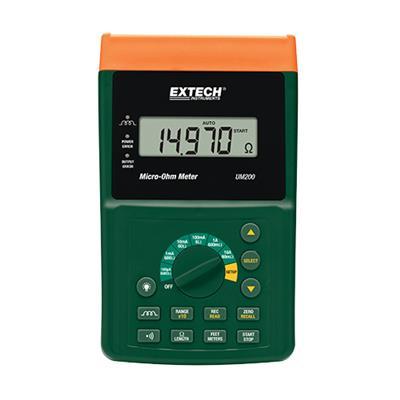 艾示科Extech UM200  高分辨率微欧计