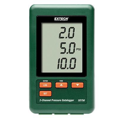艾示科Extech SD750  三路压力数据记录仪