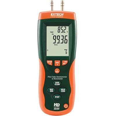 艾示科Extech HD350  空速管风速计+差压表