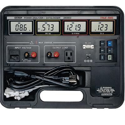 艾示科Extech 380803  真有效值功率分析仪数据记录仪