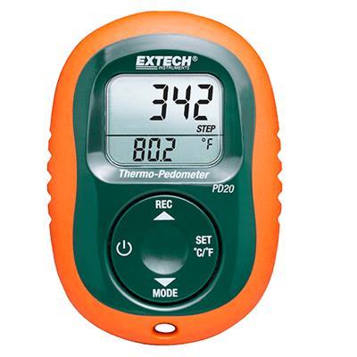 艾示科Extech PD20  Thermo-Pedometer
