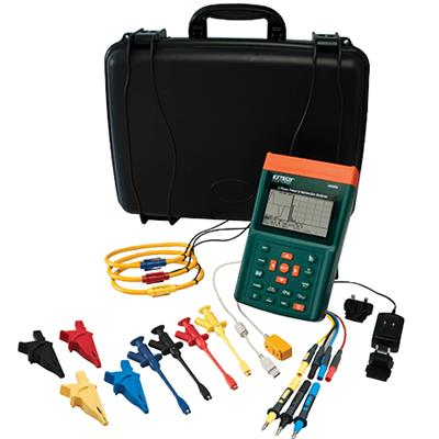 艾示科Extech PQ3350-3  三相电力谐波分析仪