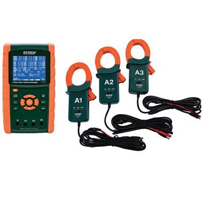 艾示科Extech PQ3470-12  1200一个功率分析仪工具包:PQ3470 PQ34-12