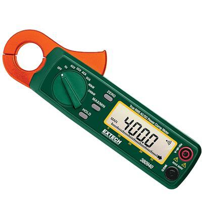 艾示科Extech 380940 400真有效值AC / DC瓦特呼叫停止