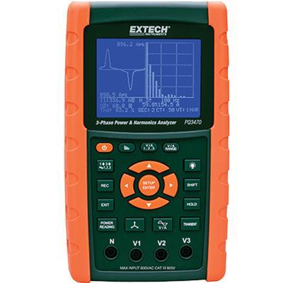 艾示科Extech PQ3470  三相图形电力谐波分析仪/数据记录仪