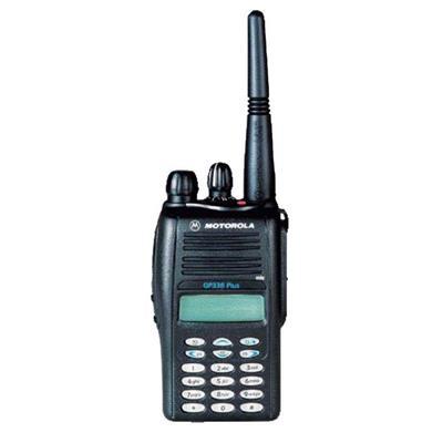 摩托罗拉Motorola 摩托罗拉GP338PLUS防爆对讲机 消防油田油站便携轻巧对讲机