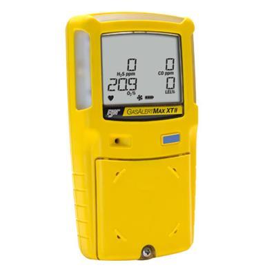 加拿大BW 泵吸式四合一气体检测仪 GasAlertMax XTII-O2 泵吸式氧气检测仪