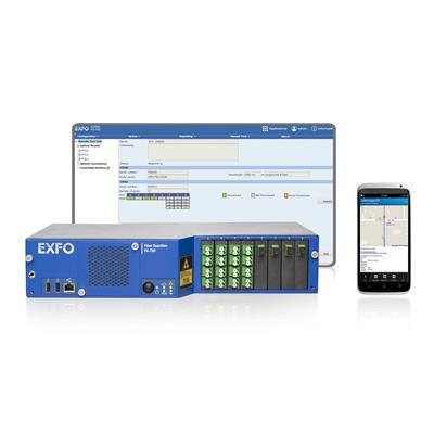 加拿大EXFO FG-750接入(P2P)/Metrial/Cord-OTDR远程光纤测试系统