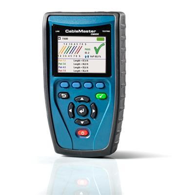 德国softing  CableMaster 600 CM600  认证网络,电话,同轴长度和故障距离的专业线缆测试仪