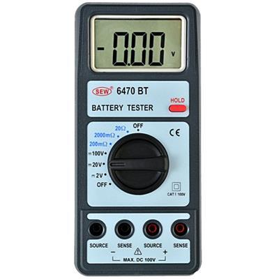 台湾SEW      6470 BT 充電電池測試表