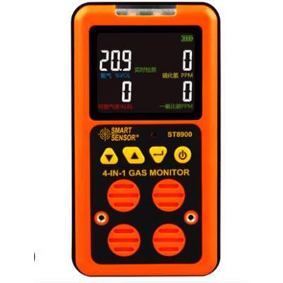 希玛 ST8900一氧化碳CO硫化氢H2S氧气可燃气体四合一测试仪