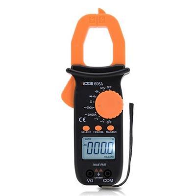 胜利钳形表数字高精度VC606C/VICTOR 606C交直流钳型电流万用表