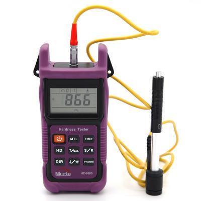 利思德Nicety HT-1800 里氏硬度计便携式硬度计材料强度测试带存储