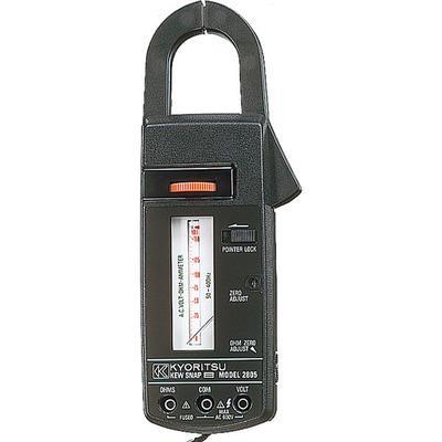 日本KYORITSU克列茨共立MODEL2805模拟钳形电流表600A指针式钳表