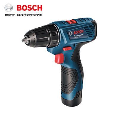 博世电钻家用充电式手电钻GSR120-Li电动螺丝刀12V手枪钻博士工具