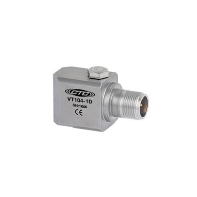 美国进口CTC双输出压电速度振动传感器VT104型