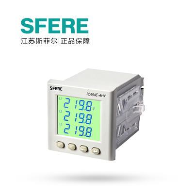斯菲尔(SFERE) 多功能 数显电度表 PD194E-AHY AC100V 5A-3P3W