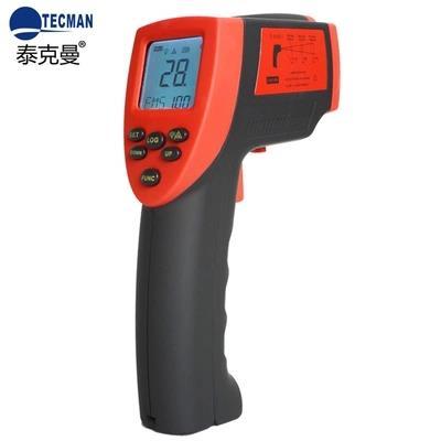 泰克曼 高温红外测温仪工业温度计1100度测温仪红外线测温仪 TM910