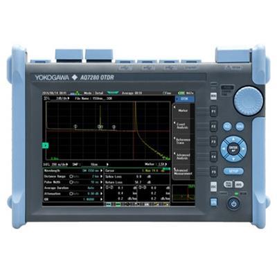 日本横河yokogawa AQ7280 光时域反射仪 OTDR 光纤故障测试仪断点测