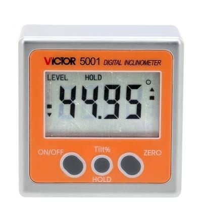 胜利仪器VICTOR5001/VC5001 数显倾角仪角度仪角度规条式水平仪