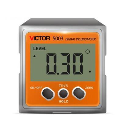 胜利仪器VICTOR5003/VC5003 数显倾角仪角度仪角度规条式水平仪