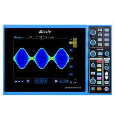 Micsig麦科信 数字智能示波器 STO1104C 100M+4CH+28Mpts+配200M探头(不含电池)