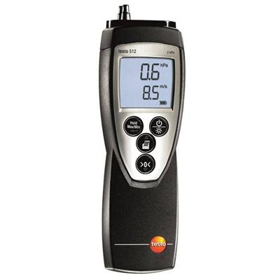testo 512 - 差压测量仪,0~20hPa,订货号  510999 5127