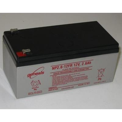福禄克FLUKE 兆欧表F1555/1550C 电池NP2.6-12FR 12v2.6ah