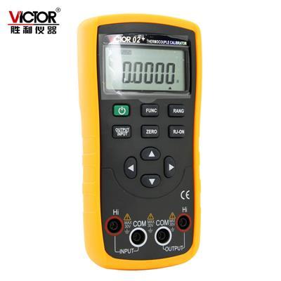 胜利仪器(VICTOR) VC02+热电偶校验仪