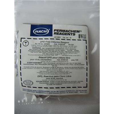 哈希 游离氯试剂粉枕包2105569-CN