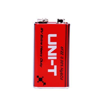 优利德9V电池 万用表钳形表备用电池叠层方型话筒玩具遥控器电池