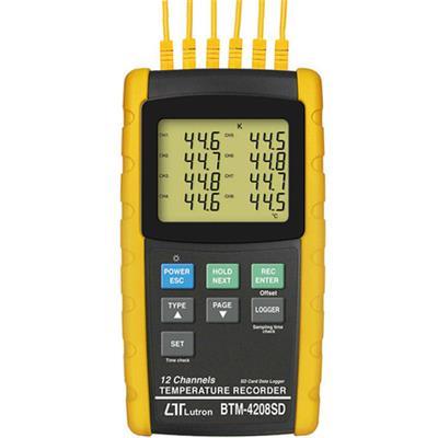 台湾LUTRON路昌BTM-4208SD温度记录仪