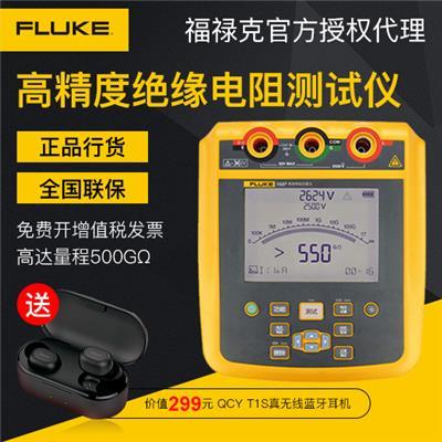 美国福禄克FLUKE Fluke 1537 2500V 绝缘电阻测试仪