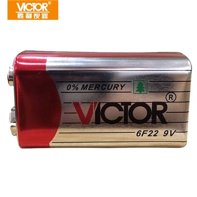 胜利仪器(VICTOR)9V电池 碳性电池6F22 9v叠层式