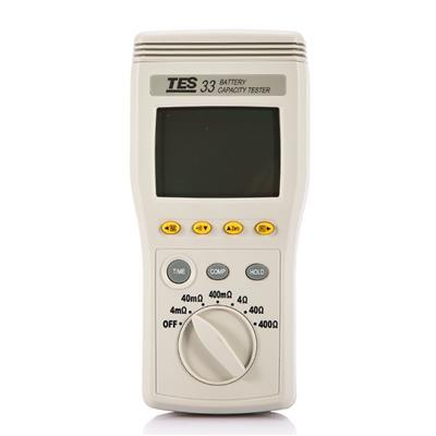 台湾泰仕TES-33S电池测试器高精度蓄电池 充电式 电瓶测试仪