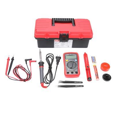 优利德KIT-E01学生豪华型维修工具套装电子五金工具箱