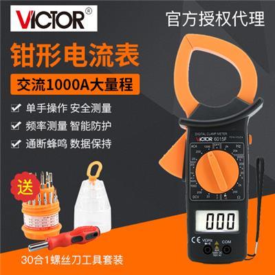 胜利仪器 DM6015F/VC6015F 钳形多用表
