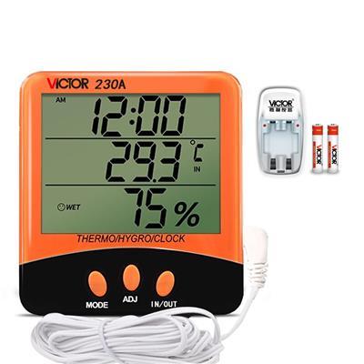 勝利儀器  家用溫濕度表VC230A/VC230a