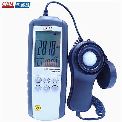 CEM华盛昌 LED强度测试仪 DT-3809